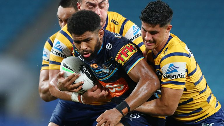 Watkins had a brief spell with NRL side the Gold Coast Titans