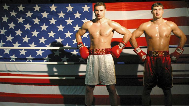 The Klitschkos dominated a raft of American challengers
