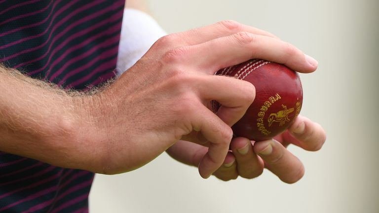 Players will be banned from using saliva on the ball under interim measures