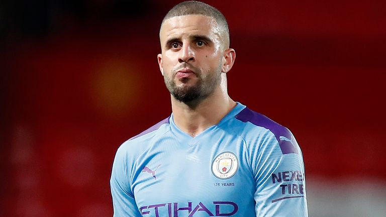 Manchester City's Kyle Walker held a party at his home last week despite the coronavirus lockdown
