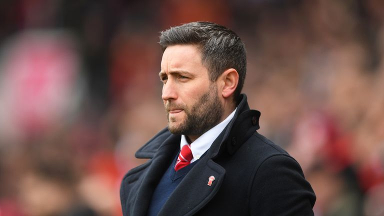 Lee Johnson was sacked by Bristol City on Saturday