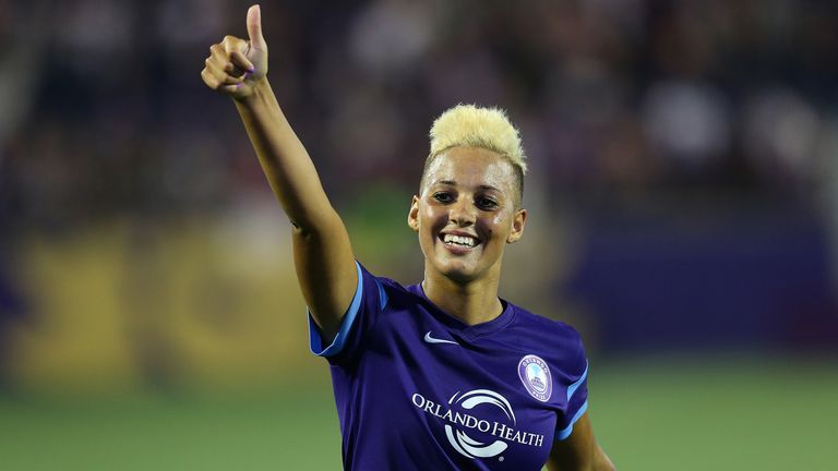 Lianne Sanderson's career took her from domestic success with Arsenal to the NWSL, and included a half-century of England appearances