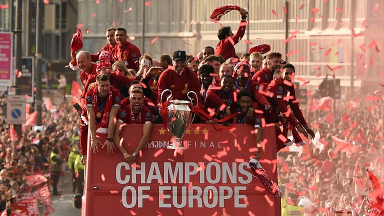 Thommo fears Liverpool will not be able to celebrate a Premier League title win with their fans in the same manner as last season's Champions League triumph