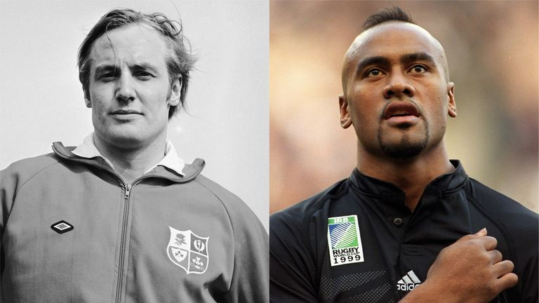 Miles Harrison's picks on the left wing in his Rugby Fantasy Land are David Duckham and Jonah Lomu