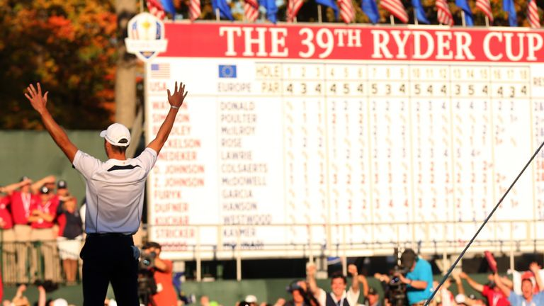 Martin Kaymer held his nerve to defeat Steve Stricker