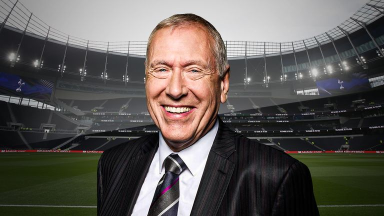 Martin Tyler doesn't like driving to Tottenham's new ground - but he loves it when he is there