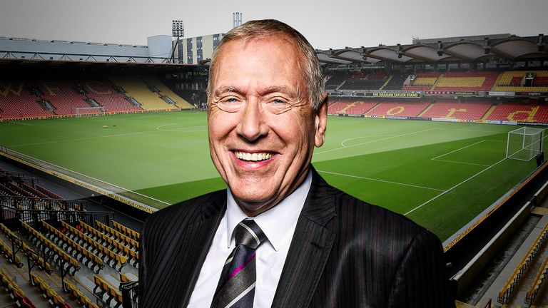 Martin Tyler, Woking's assistant manager, took on Watford in the FA Cup last season