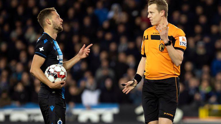 Cllub Brugges midfielder Mats Rits