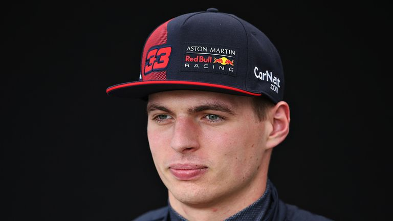 Max Verstappen of Netherlands and Red Bull Racing poses for a photo in the Paddock during previews ahead of the F1 Grand Prix of Australia at Melbourne Grand Prix Circuit on March 12, 2020 in Melbourne, Australia.