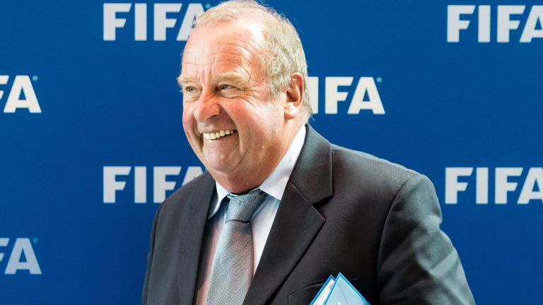 FIFA medical committee chairman Michel D'Hooghe