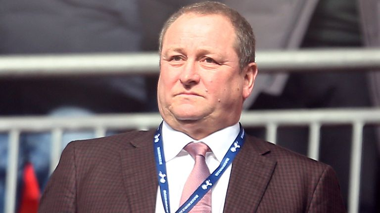 Mike Ashley remains the owner of Newcastle but he remains hopeful the Saudi-based takeover can still proceed