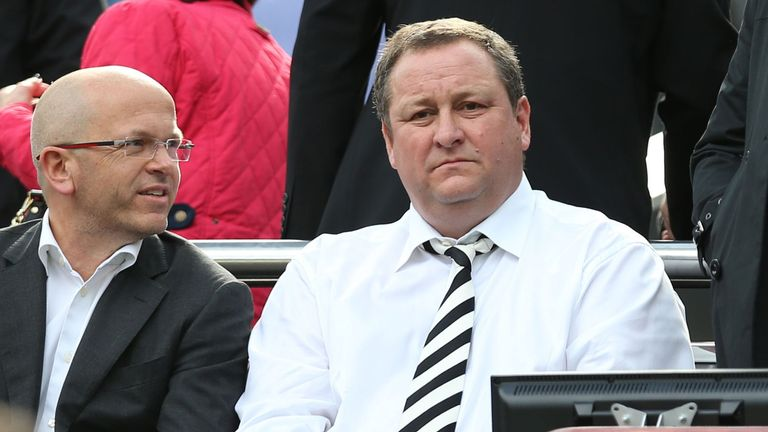 Mike Ashley is out of the country - but a takeover is at an advanced stage
