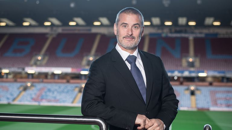 Burnley technical director Mike Rigg [Credit: Burnley FC]