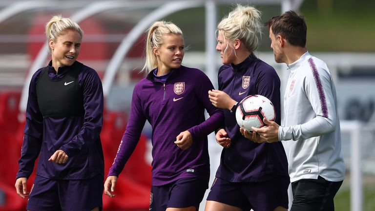Sarina Wiegman To Succeed Phil Nevillle As England Women Head Coach Football News Sky Sports England women beat denmark in their penultimate match before the world cup thanks to goals from nikita parris and jill scott. england s rachel daly says she would like neville s successor to push the side to be the best team in the world