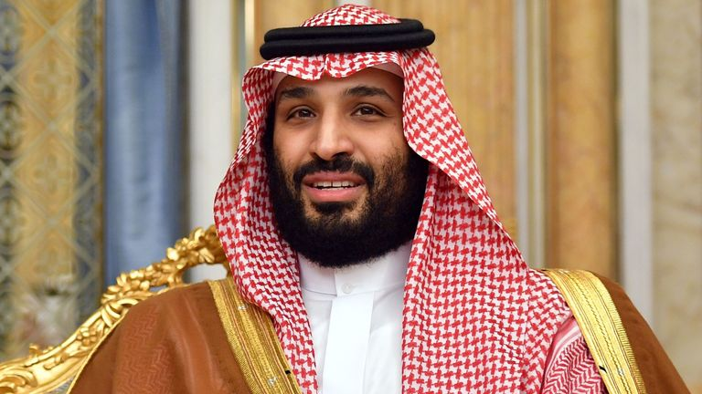Saudi Arabia's Crown Prince, Mohammed bin Salman, is part of the consortium close to buying Newcastle