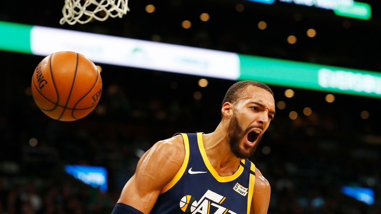 Check out Rudy Gobert's best plays from the NBA this season.
