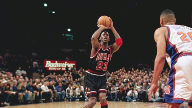 Chicago's Michael Jordan overcame the pain to score 42 in his final game at Madison Square Garden as a Bull. Watch episodes five and six of The Last Dance on Netflix via Sky from 8am on May 4.
