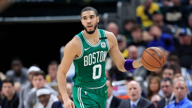 Check out Jayson Tatum's best plays from this season's NBA.