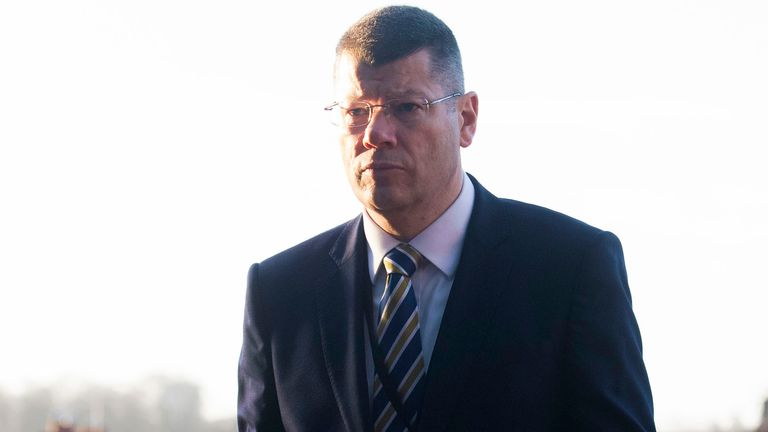SPFL Chief Executive Neil Doncaster pictured at Hampden Park