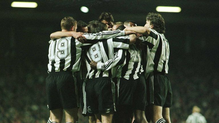 Newcastle had led twice at Anfield