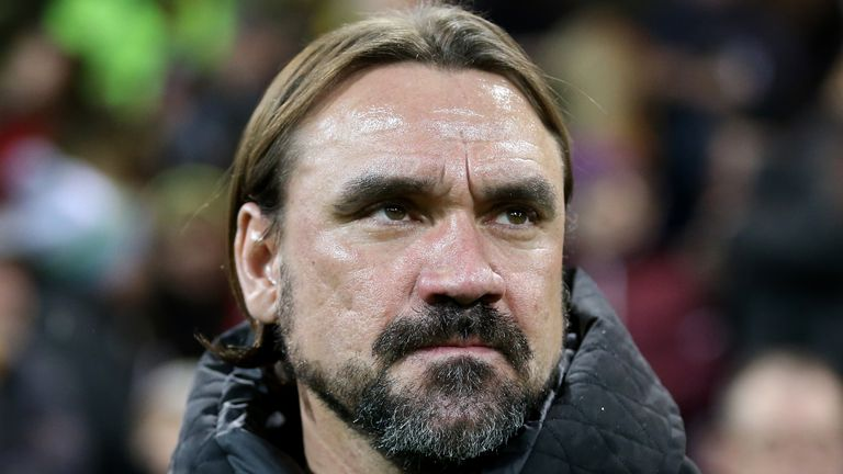Daniel Farke is among those at Carrow Road donating part of their salaries to help local communities in Norfolk
