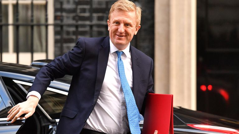 Oliver Dowden is Secretary of State for Digital, Culture, Media and Sport