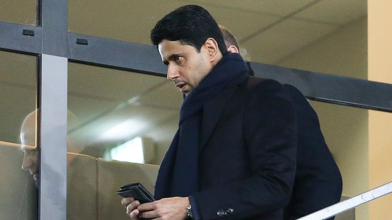 Nasser Al Khelaifi has been the president of PSG for eight years