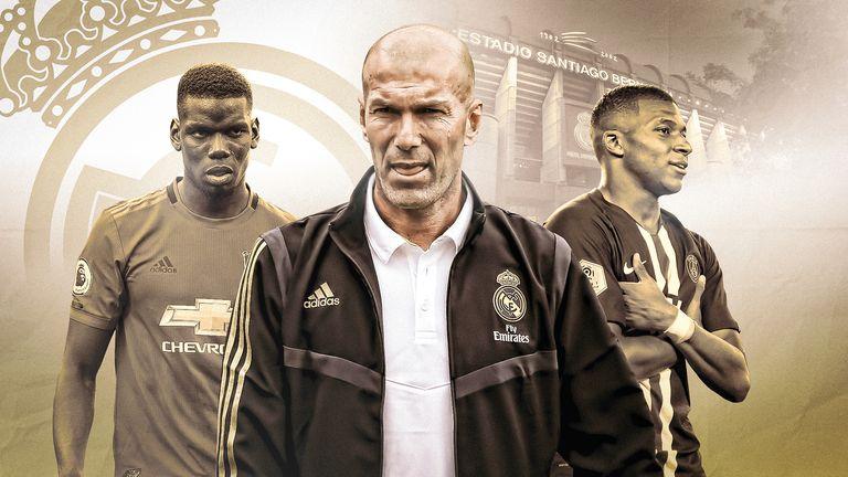 Real Madrid head coach Zinedne Zidane will be considering his options