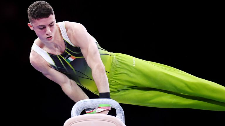 Rhys McClenaghan hopes his punishing training regime will lead to Olympic Games glory in 2021