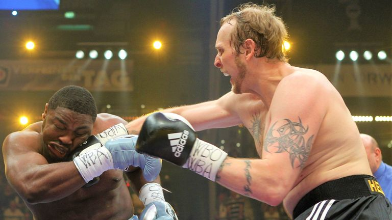 Helenius pounded Samuel Peter to a halt to extend his unbeaten record