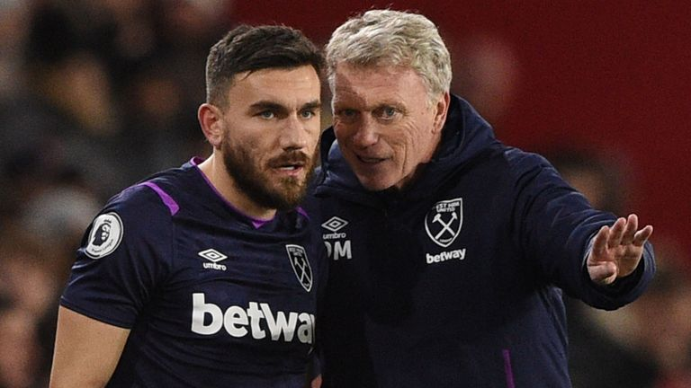 Robert Snodgrass and David Moyes