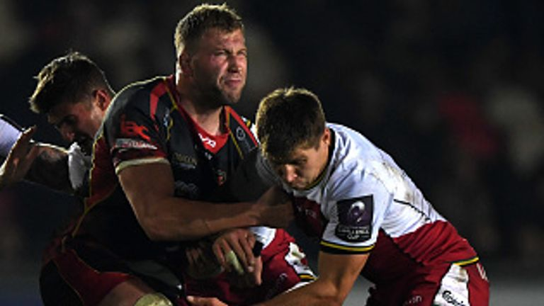 Moriarty joined the Dragons from Gloucester in November 2017