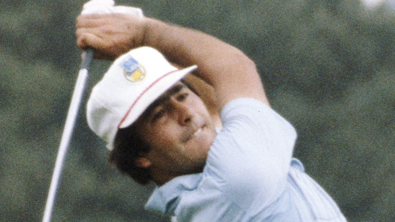 Seve Ballesteros made eight appearances for Team Europe, before captaining the side in 1997