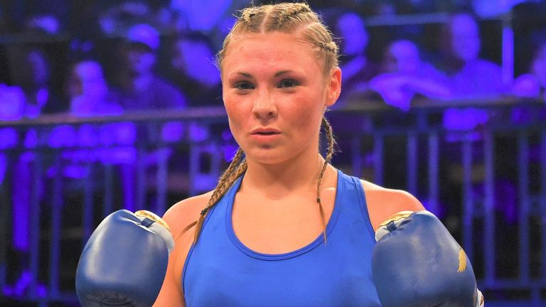 Shannon Courtenay has racked up five victories since her professional debut