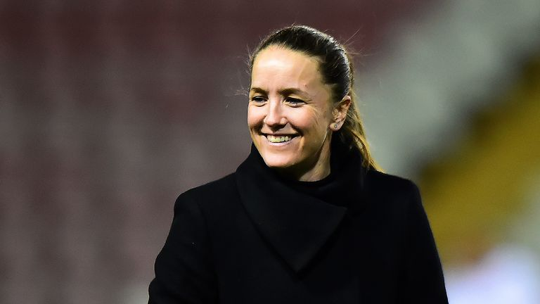 Casey Stoney has led Manchester United to fourth in their first season in the Women's Super League