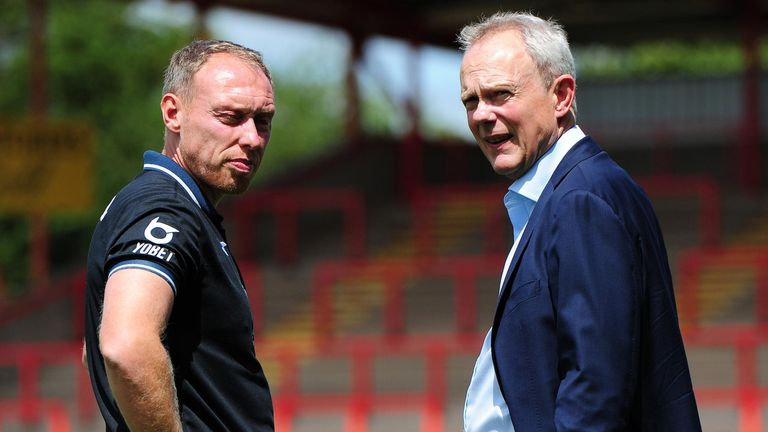Swansea manager Steve Cooper and chairman Trevor Birch have both voluntarily agreed to wage deferrals