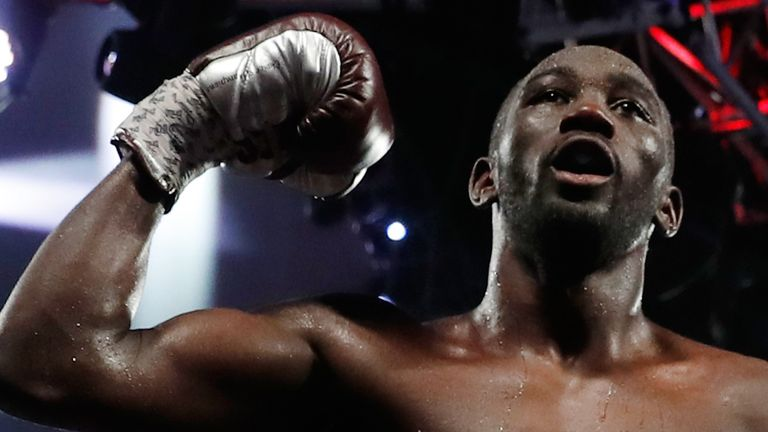 Terence Crawford is the WBO welterweight champion and arguably pound-for-pound No 1