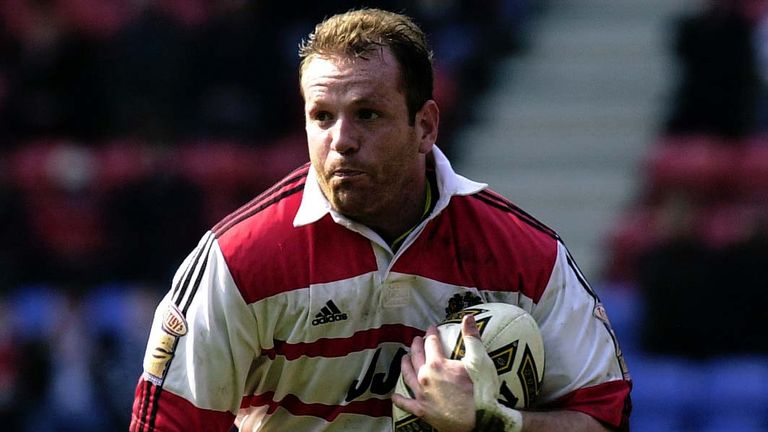 Terry O'Connor in action for Wigan Warriors