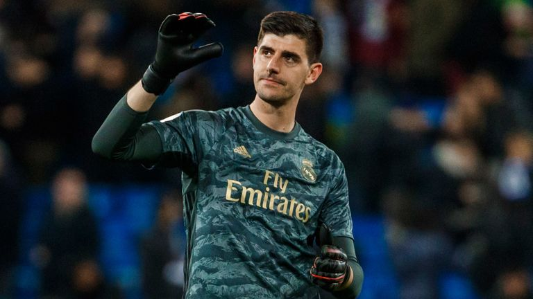 Thibaut Courtois remains first-choice goalkeeper and is yet to reach his peak