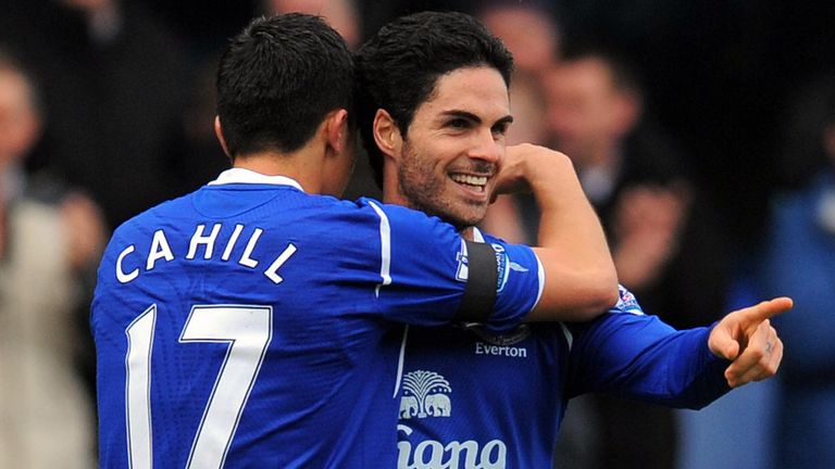 Tim Cahill says Arsenal boss Mikel Arteta was destined for a role in coaching
