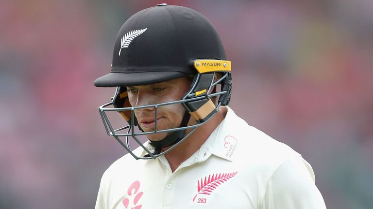 Tom Latham trudges off during New Zealand's series defeat in Australia