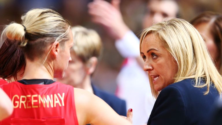 Tracey Neville and Tamsin Greenway