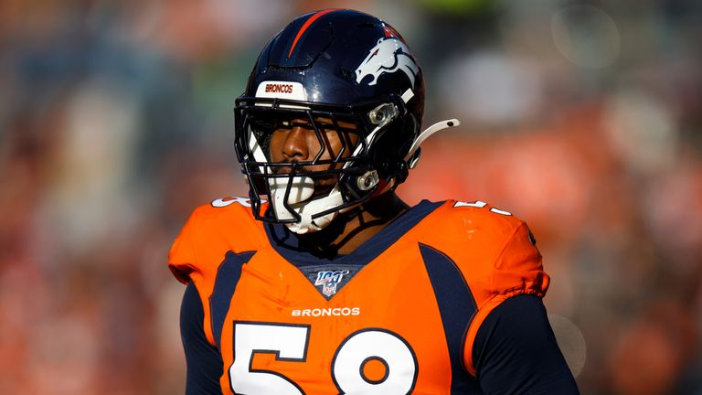 Broncos linebacker Von Miller has had surgery on his injured ankle and is likely to be out for the season