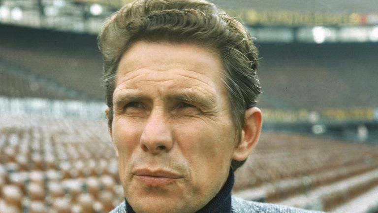 Dutch football coach Wiel Coerver pictured in 1972