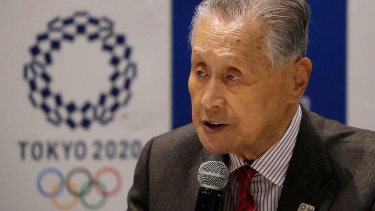 Tokyo 2020 president Yoshiro Mori remains confident the Games will go ahead next year