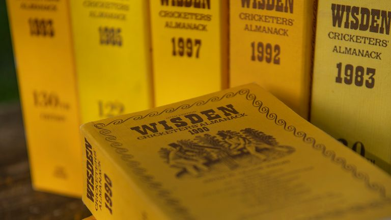 A full collection of original Wisden Cricketers' Almanacks could fetch a six-figure sum at auction
