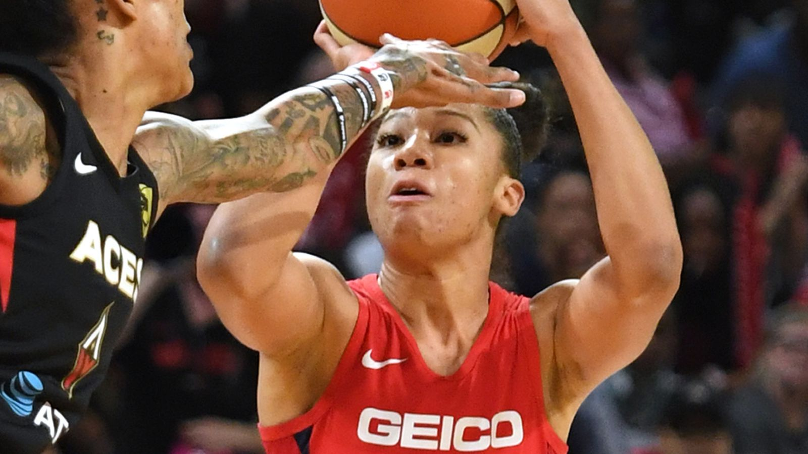 WNBA star Aerial Powers reveals how she is preparing for the 2020 season in lockdown