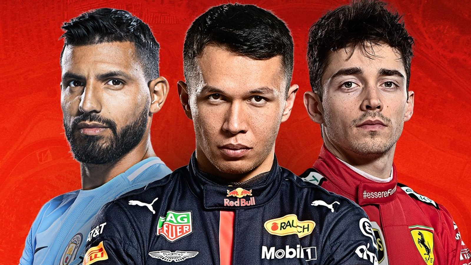 Aguero vs Albon vs Leclerc in Sunday's Virtual GP thumbnail