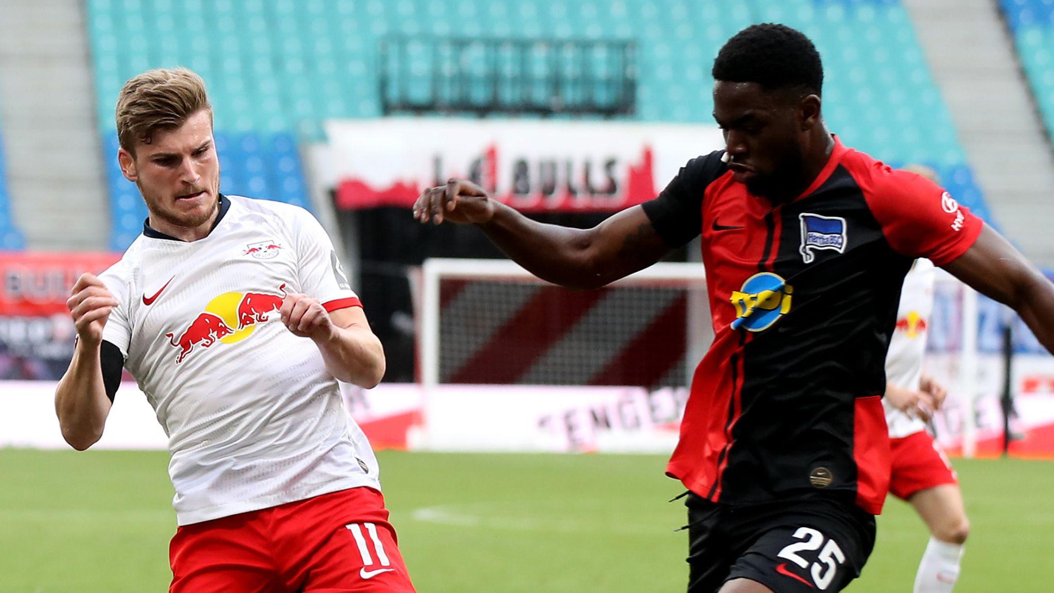 RB Leipzig 2-2 Hertha Berlin: Krzysztof Piatek penalty denies Leipzig second spot