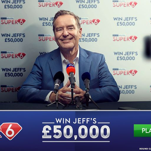 Win £50k with Super 6!